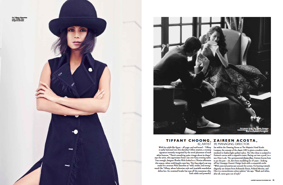 Harpers Bazaar Malaysia's Most Stylish Women 2014