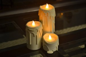 ETSY FLAMELESS CANDLES